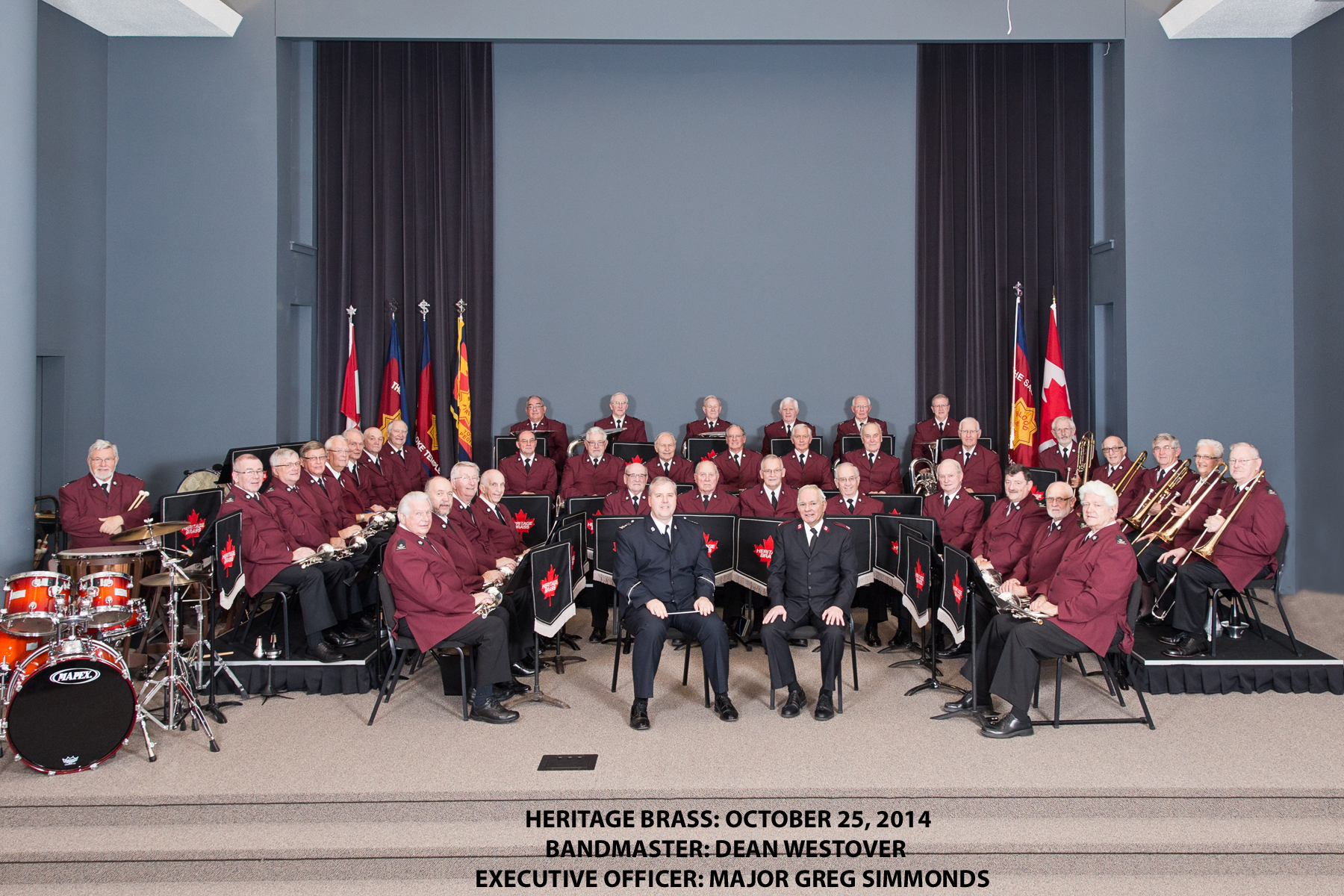 HERITAGE BRASS ANNUAL CONCERT 2014
